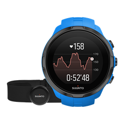 Suunto Spartan Sport Wrist HR Blue with Belt