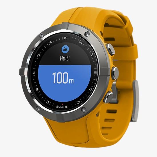 Suunto Spartan Trainer Wrist HR Amber - GPS training watch