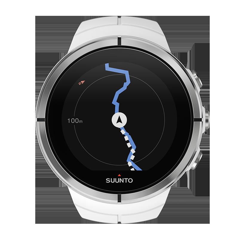 Suunto Spartan Ultra White - montre GPS multisport