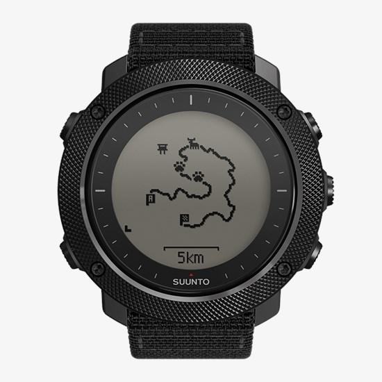05022d4ed Suunto Traverse Alpha Stealth – the GPS/GLONASS outdoor watch