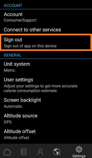 android password reset app