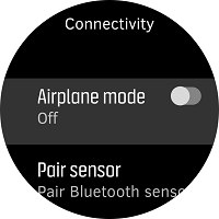 Ensure airplane mode is toggled off.
