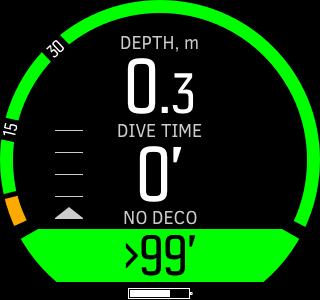 Suunto D5 - offset pressure