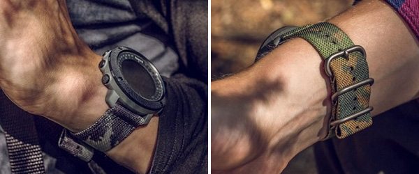 Suunto traverse alpha 迷彩图案表带1