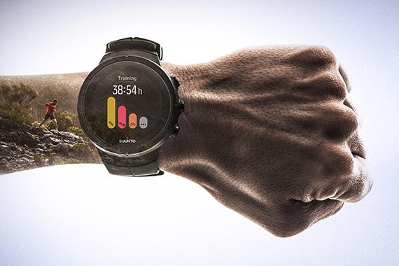 Beschreibung von Suunto Spartan Sport Wrist HR Black Silikonarmband SS022931000