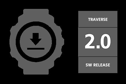 Suunto Traverse Software Update December 2016