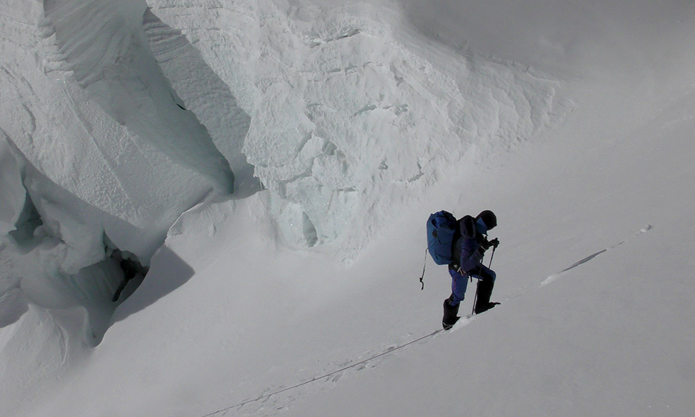 Kilian Jornet on Everest in spring 2017