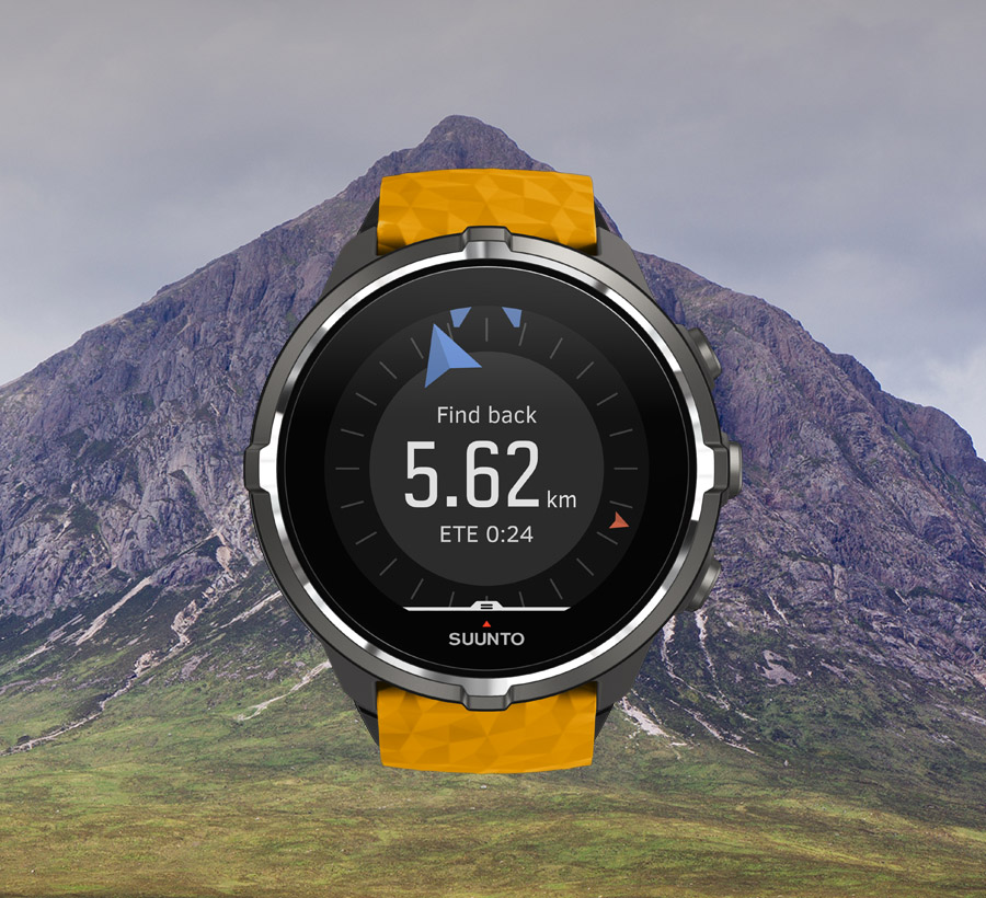 Suunto Spartan Navigation / Find-Back