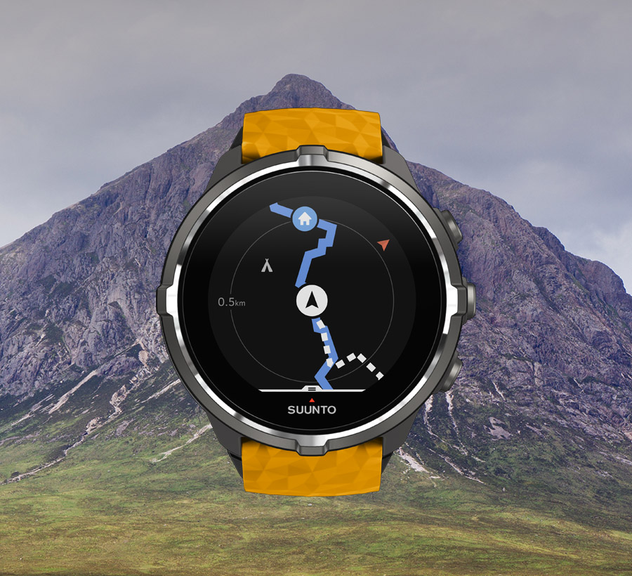Suunto Spartan Navigation / Route list