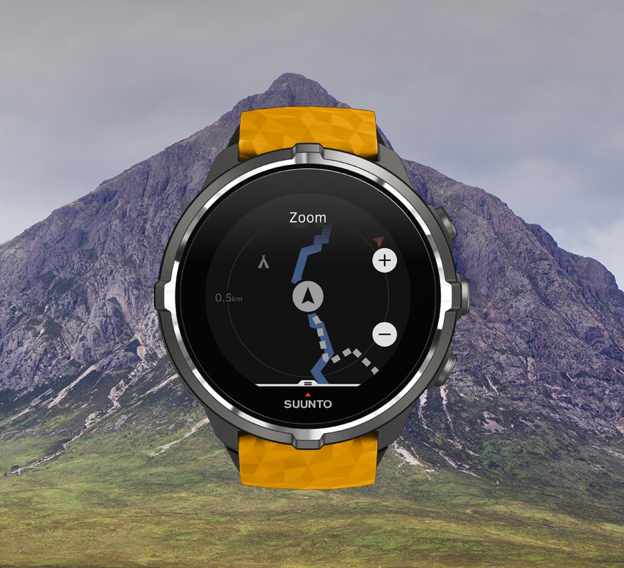 Suunto Spartan Navigation / Routenzoom