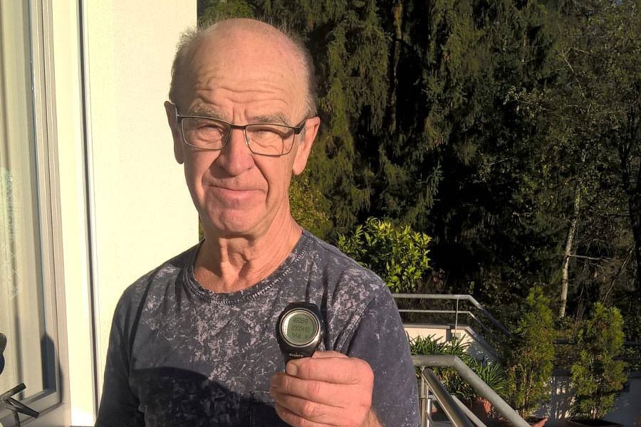 Walter Hassler climbed 2 million height meters – and recorded every single one on his Suunto