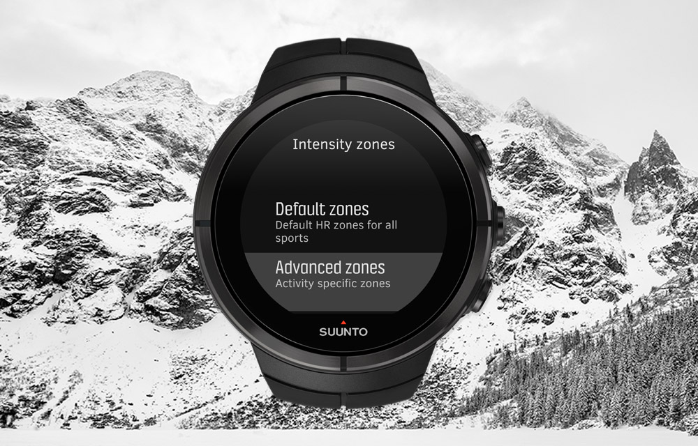 Suunto Spartan – Activity specific heart rate zones