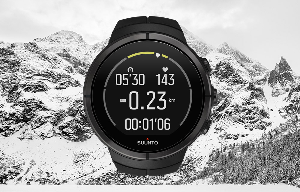 Suunto Spartan – Heart rate zone gauge