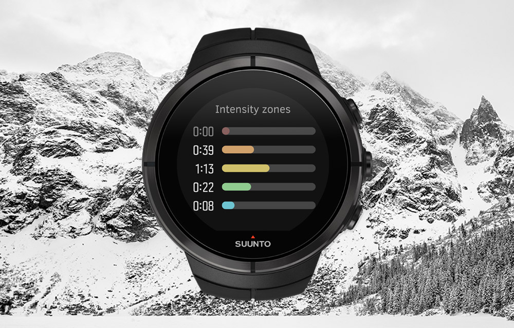 Suunto Spartan – Heart rate zone summary