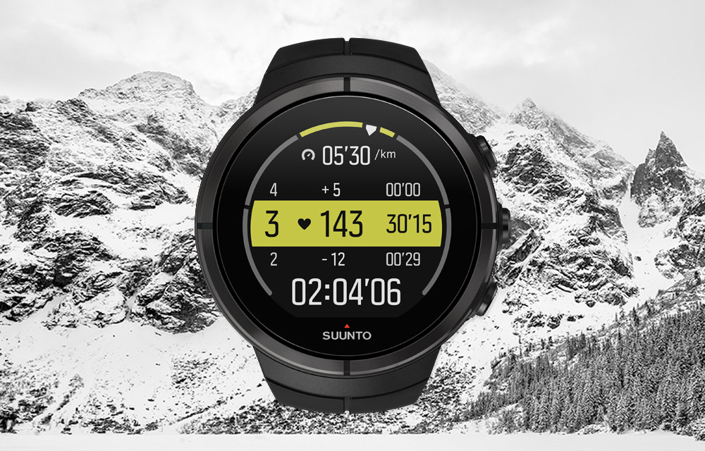 Suunto Spartan – Heart rate zone