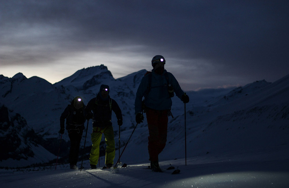 Der Lange Weg means 15-hour days and 2 a.m. Alpine starts