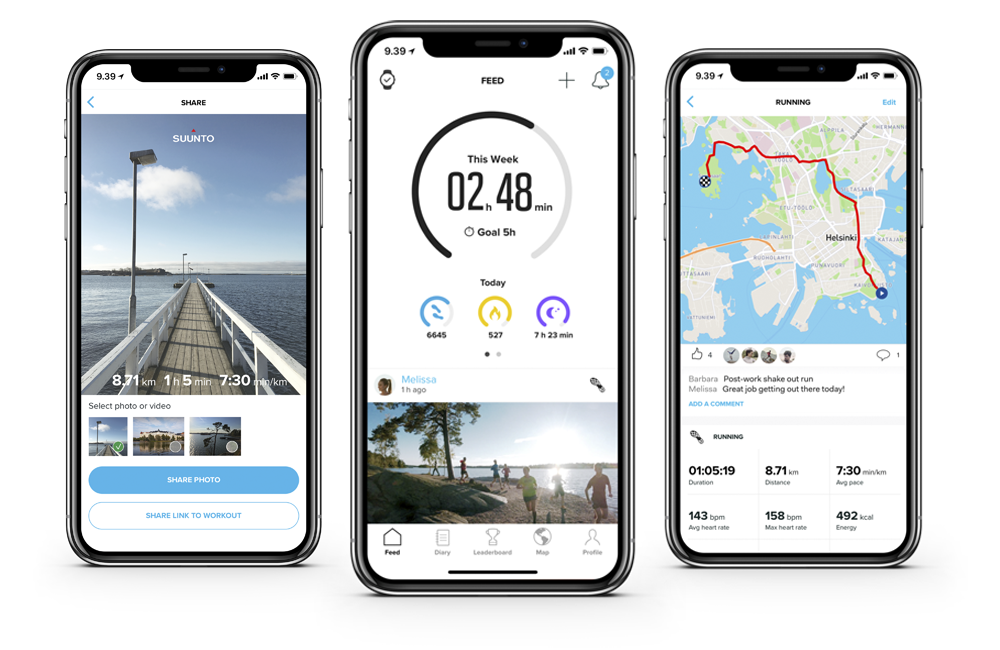 Suunto app is available on the App Store and Google Play