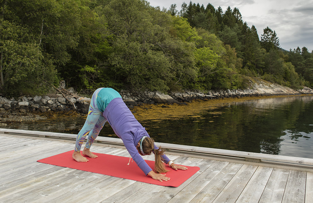 Downward Dog: Five to 20 breaths