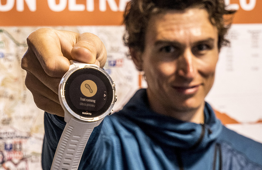 Marc has created a custom trail running sport mode for Ultra Pirineu.