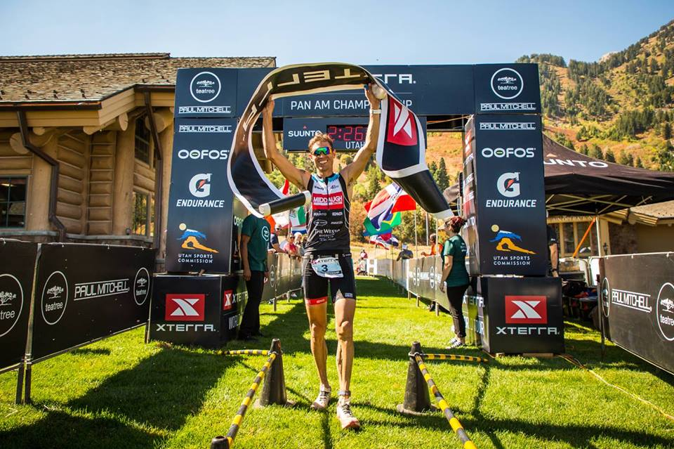 Josiah Middaugh is a champion and a certified trainer. (Image by XTERRA)