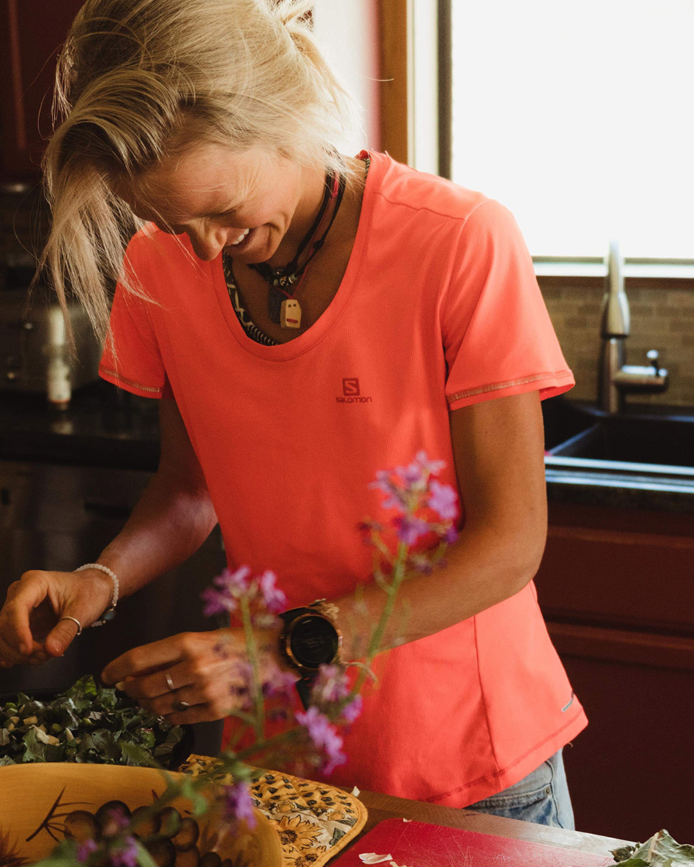 """I really try to use the time and an accessibility I have to create food that will bring out the best in me,"" Lucy Bartholomew says."