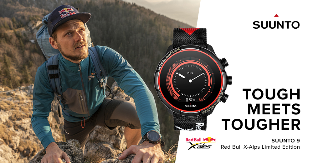 Suunto 9 Baro Red Bull X-Alps Limited Edition