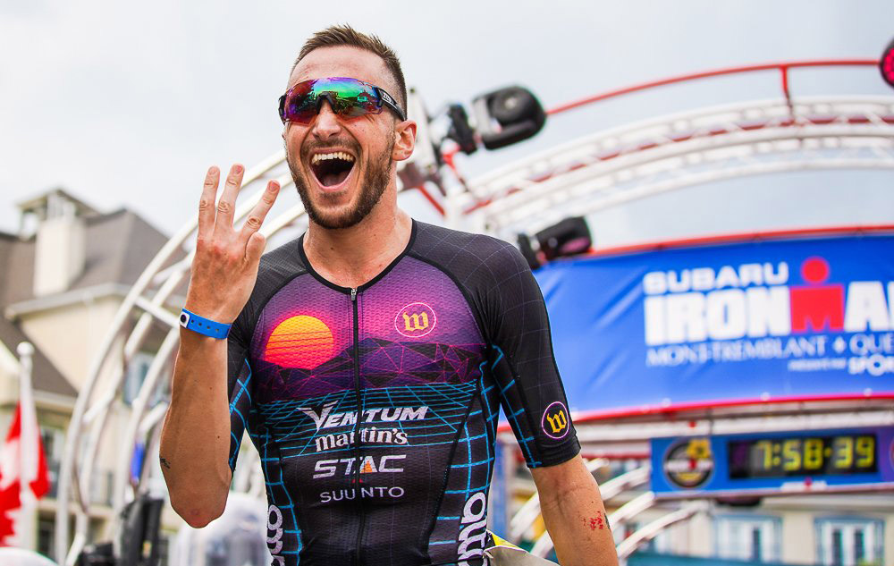 Three full-distance pro Ironman races and three wins!