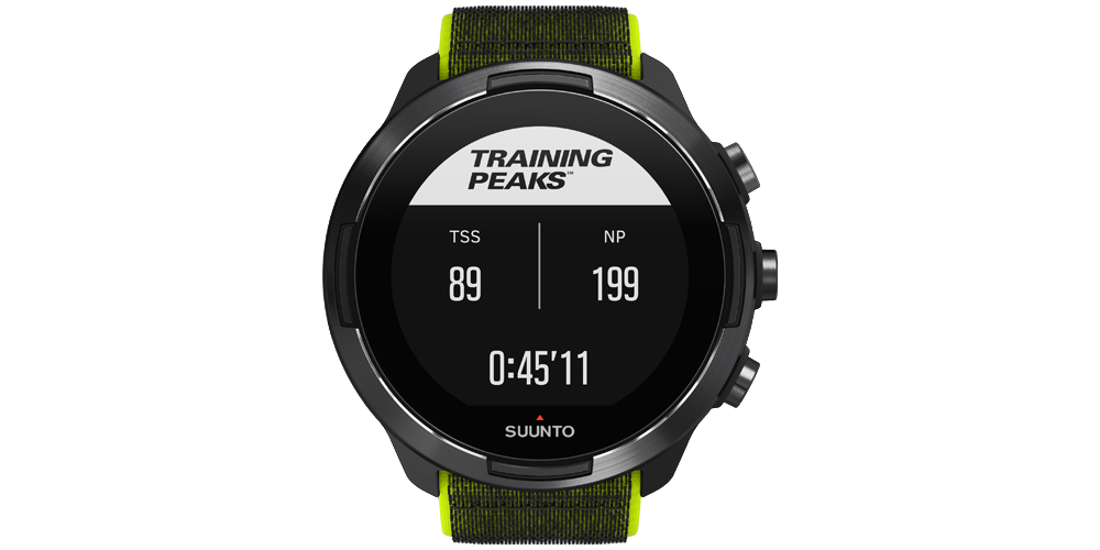 SuuntoPlus TrainingPeaks Cycling Power
