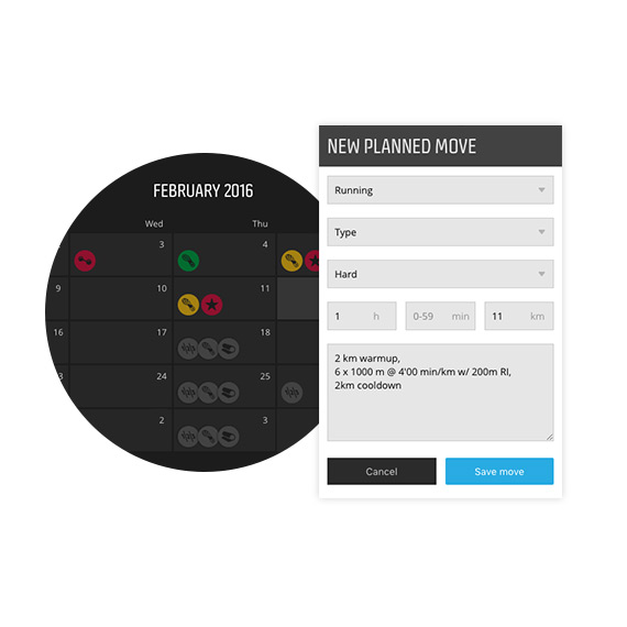 Training Insights help you balance your training load, rest